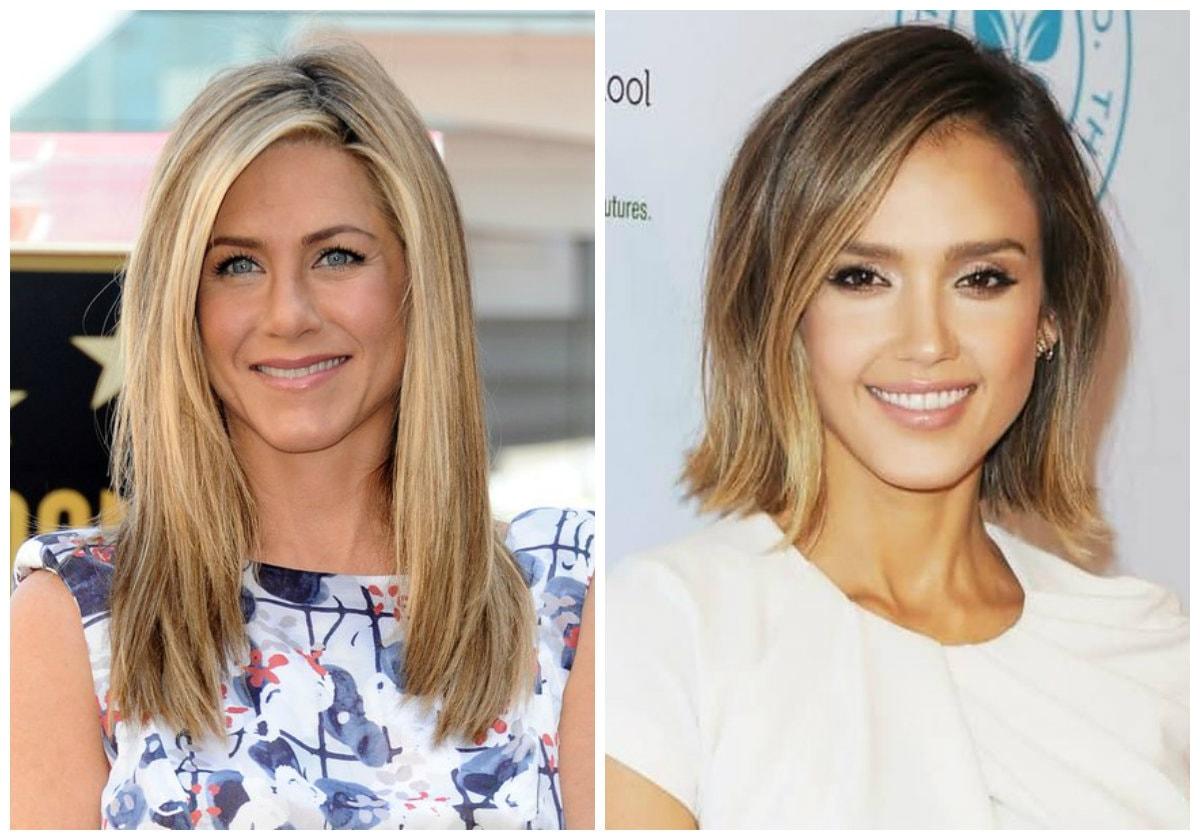 Модное окрашивание волос в 2017 году на средние светлые волосы