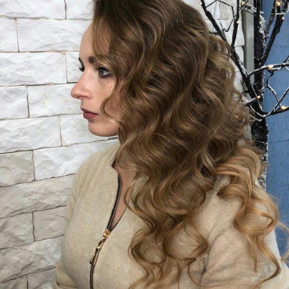 Фото голливудской укладки волос