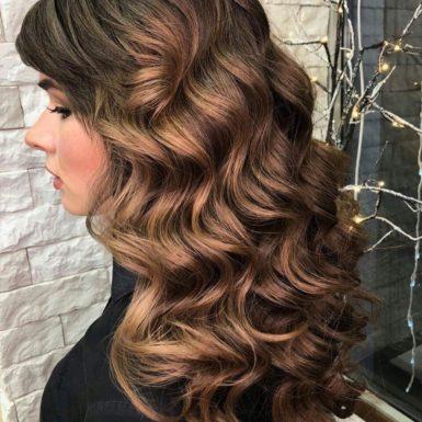 Голливудская укладка волос фото