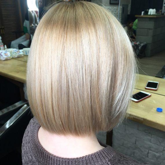 Окрашивание волос блонд фото
