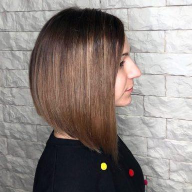 Стрижка волос каре фото