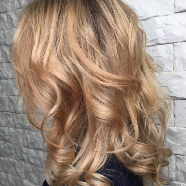 Трендовое окрашивание волос фото