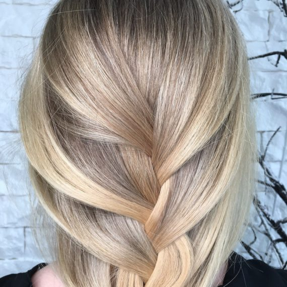 Орашивание на русые волосы фото