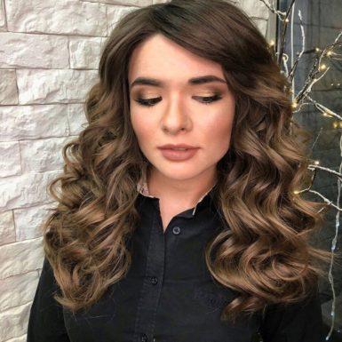 Вечерний макияж фото