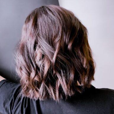 Стрижка и окрашивание волос фото