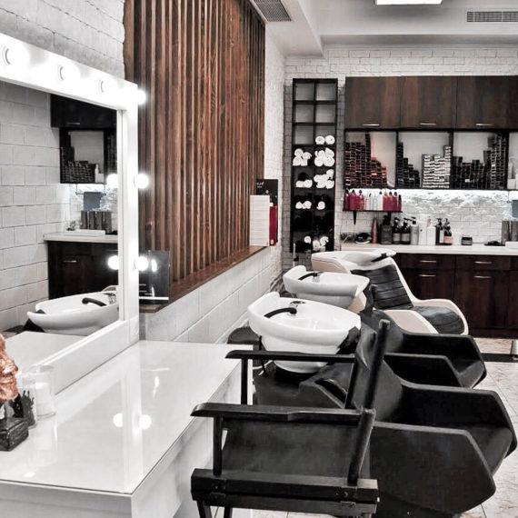 Интерьер салона красоты Hairdresser