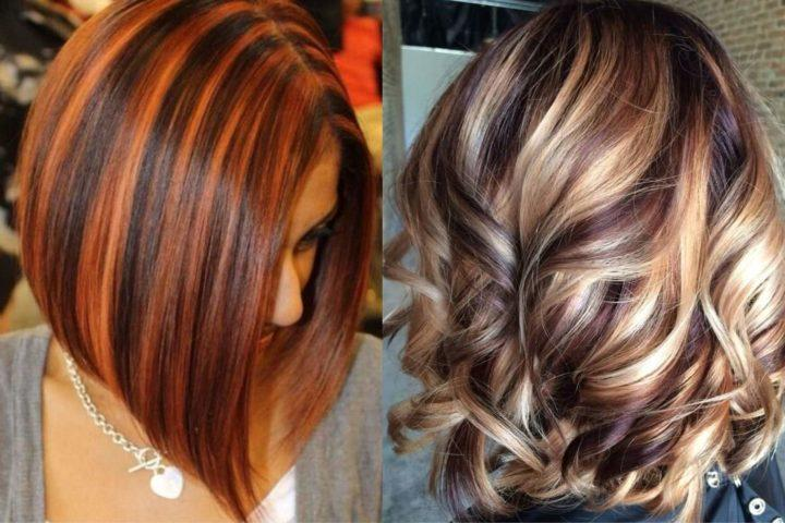 Колорирование волосы
