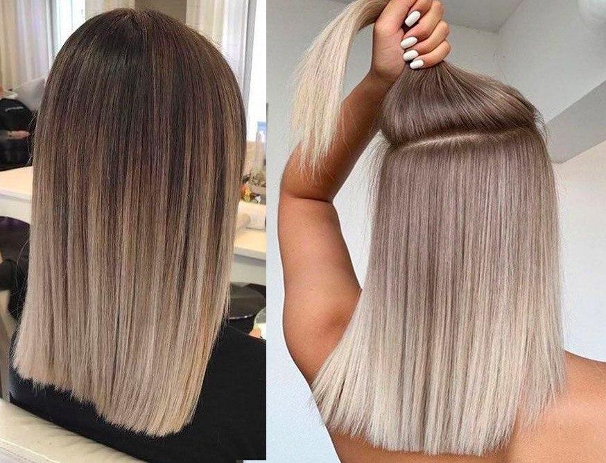 Омбре волосся
